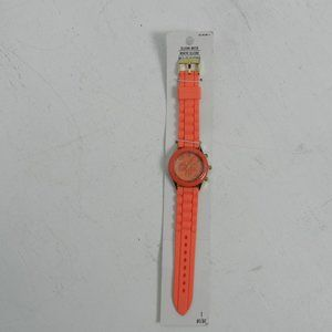 DARICE  LADIES WATCH Coral SILICONE BAND s1